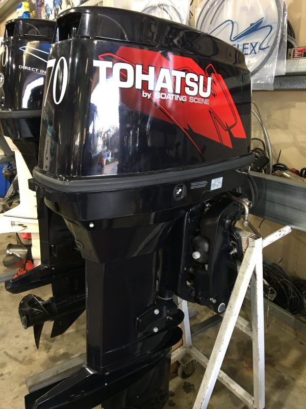 Tohatsu 70hp - Sold Boating Scene