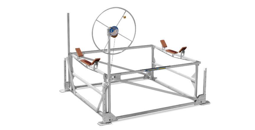 1200 lb. Capacity Hewitt Cantilever Lift 96