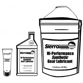 SIERRA HI-PERFORMANCE SYNTHETIC LOWER UNIT GEAR LUBE