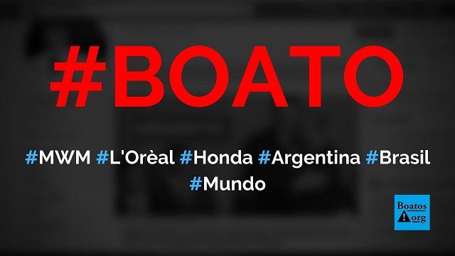 MWM, Honda, e L'Oréal fecham fábricas na Argentina e vão investir no Brasil, diz boato