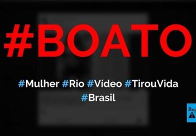 Mulher do Rio de Janeiro que teve vídeo vazado na web tirou a própria vida, diz boato (Foto: Reprodução/Facebook)