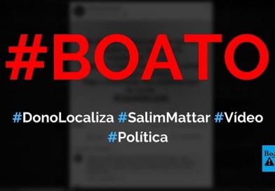 Salim Mattar, dono da Localiza, gravou vídeo criticando quarentena, Congresso e apoiando Bolsonaro, diz boato (Foto: Reprodução/Facebook)