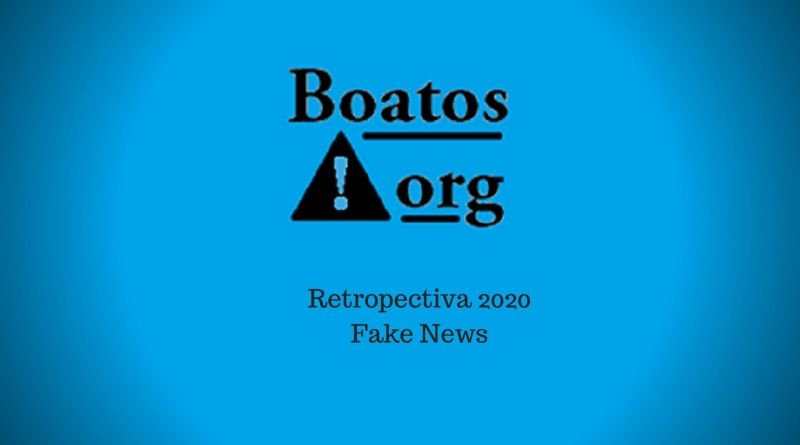 Retrospectiva 2020 das fake news (Foto: Boatos.org)