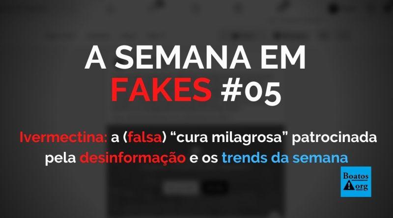 Ivermectina a falsa cura milagrosa patrocinada pela desinformação, diz boato (Foto: Reprodução/Facebook)