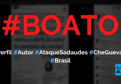 Fabiano Kipper Mai, autor de ataque em Saudades (SC), tinha foto de Che Guevara e #forabolsonaro no Instagram, diz boato (Foto: Reprodução/Facebook)