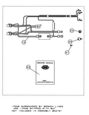 CMC PT35 Tilt and Trim 52100 Replacement Parts
