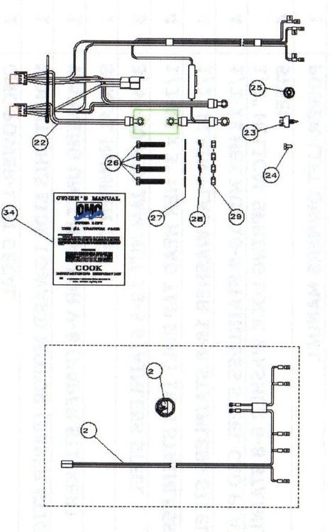 CMC PL-65 HS 61301/61302 Replacement Parts