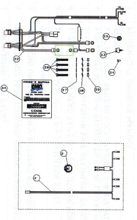 wiring boat lights and trolling motor