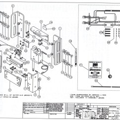 Pontoon Boat Wiring Diagram Sub Diagrams Cmc Pl-65 Hydraulic Jack Plate Parts 65001 And 65002 Serial Number 683185 To Current