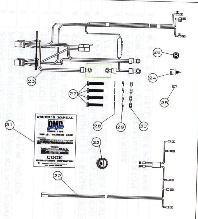 hydraulic jack plate wiring diagram