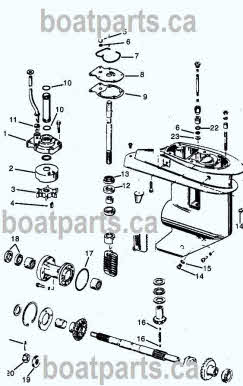 Johnson Evinrude Parts Diagrams