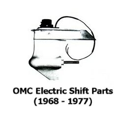 OMC 400/800 outdrive parts drawings