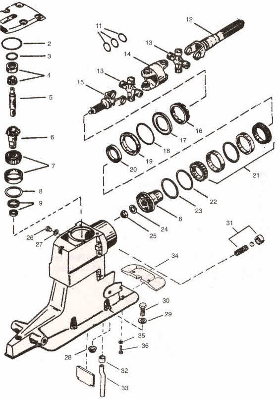 Mercruiser Lower Unit Parts Diagram. Wiring. Wiring