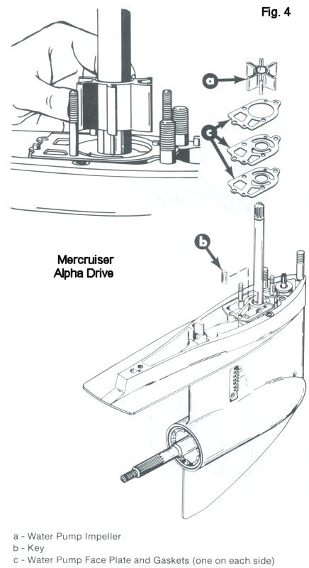engine cooling diagram inboard outboard motor