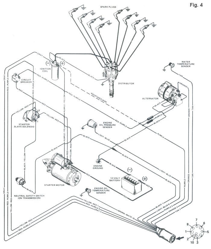 Mercruiser 260 Wiring Diagram
