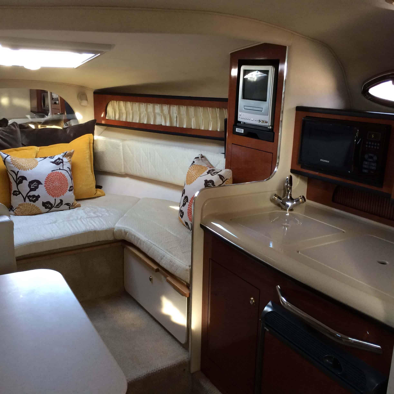Blue Horizon Marina del Rey Boat Tour Salon