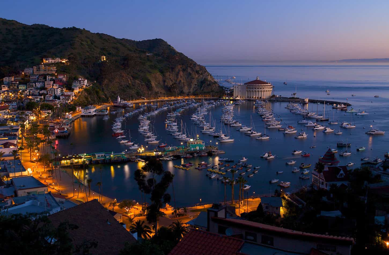 Catalina overnight yacht charter