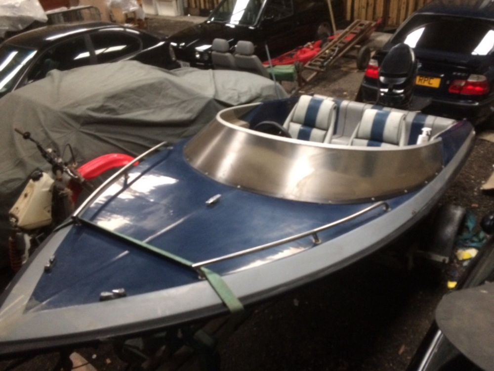 medium resolution of picton speed boat mercury thunderbolt outboard and trailer