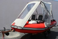 Inflatable Boat Tent Canopy | Car Interior Design
