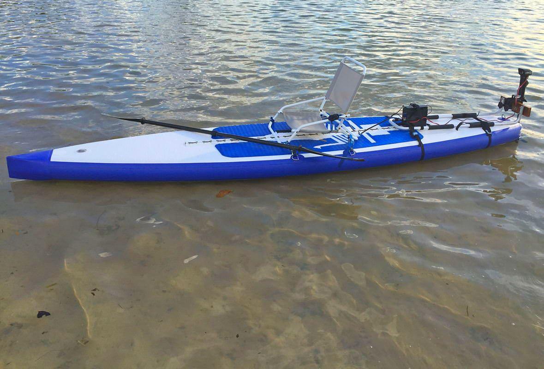 electric motor kayak humbucker wiring diagram 3 way switch motorized sup paddle board kit convert into