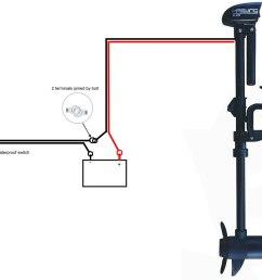 electric trolling motor wiring diagram [ 1174 x 987 Pixel ]