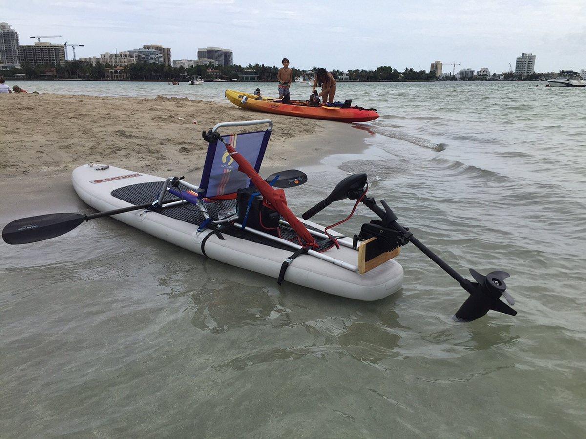 electric motor kayak electrical wiring diagram of rice cooker motorized sup paddle board kit convert into