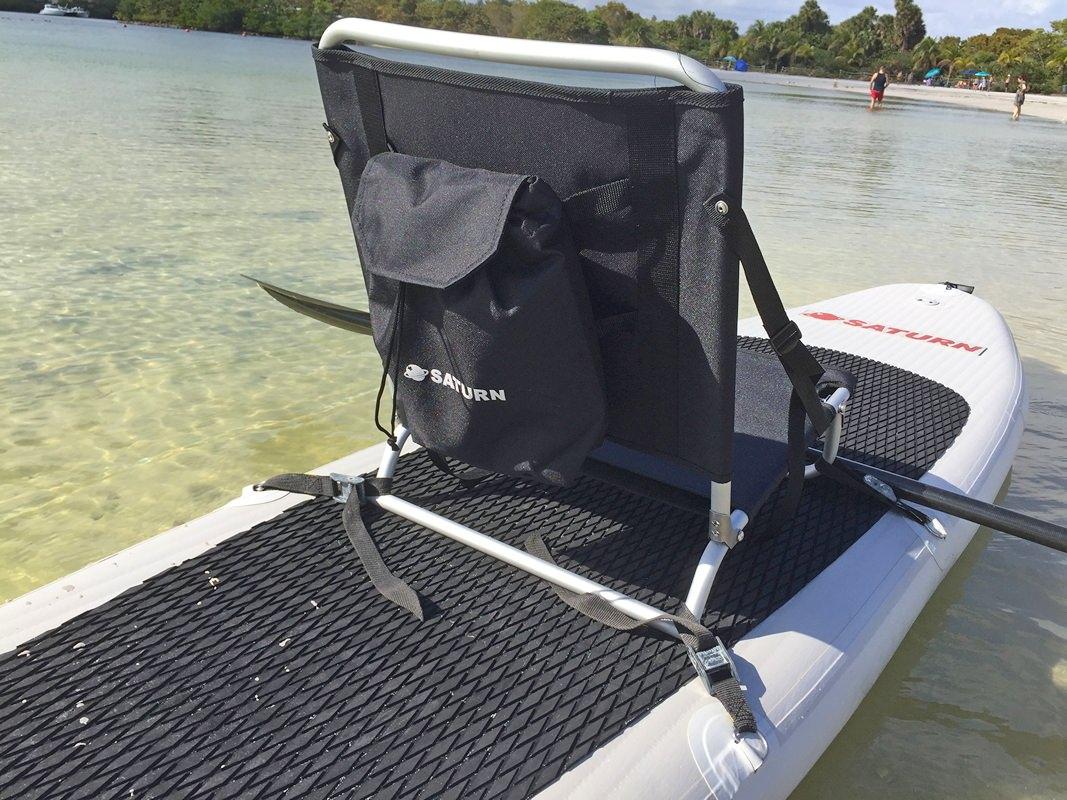 fishing chair umbrella holder rifton wood folding beach sup kayak seat