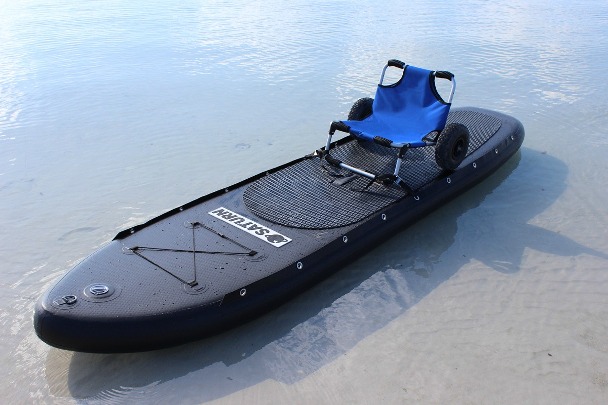 fishing chair hand wheel wooden kitchen table and chairs perfect cargo cart trolley beach seat all in one for boat