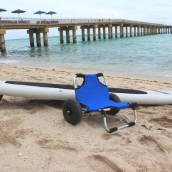 Beach Chair Accessories Bedroom Wood Sup Transportation Cart Trolley Also Work As A