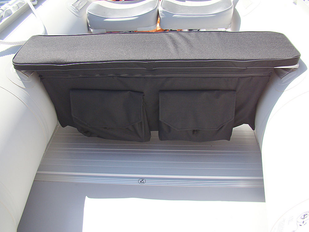 floating fishing chair back posture pillow under seat storage bags and cushions for inflatable boats benches.