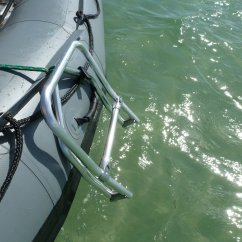 Fishing Chair Heavy Duty Banquet Covers Foldable Swimming Ladder For Inflatable Boats, Dinghy, Kaboat.