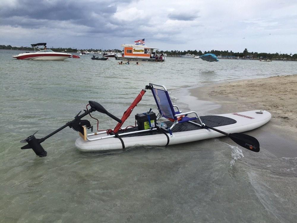 medium resolution of  motor mount for sup or kayak