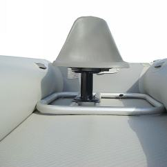 Folding Fishing Chair Yoga Video Aluminum Seating Platform Frame For Inflatable Boats Dinghy.