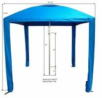 Beach Umbrella, Cabana Tent, Sun Shade, Boat Bimini