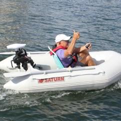 Electric Motor Kayak 3 Way Lighting Wiring Diagram Remote Controlled 55lbs 12v Trolling