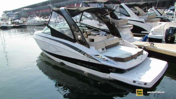2014 Regal 2550 Motor Boat At 2014 Montreal In Water Boat Show