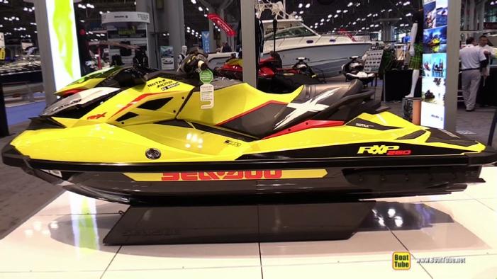 2015 Sea Doo RXP X 260 Jet Ski At 2015 New York Boat Show