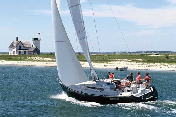 types of sailboats and