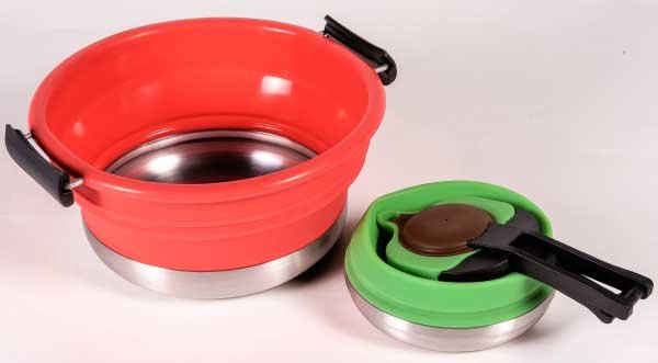 Photo of a set of Nautical Scout cookware