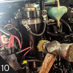 Mercury Outboard Power Trim Wiring Diagram 98 F150 Window What To Do If Your Won T Start Boatus Magazine 10 Starter Solenoid