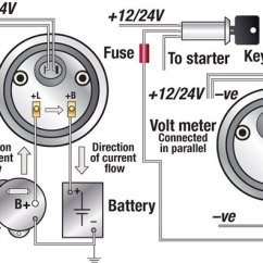 Vdo Ammeter Wiring Diagram 1997 Jeep Wrangler Pdf Troubleshooting Boat Gauges And Meters - Boatus Magazine