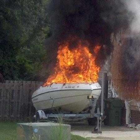Rv Ac Power Wiring Boat Fires Seaworthy Magazine Boatus