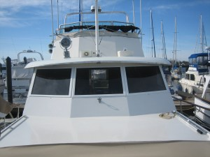 Hatteras 53 Motor Yacht Boat Windows