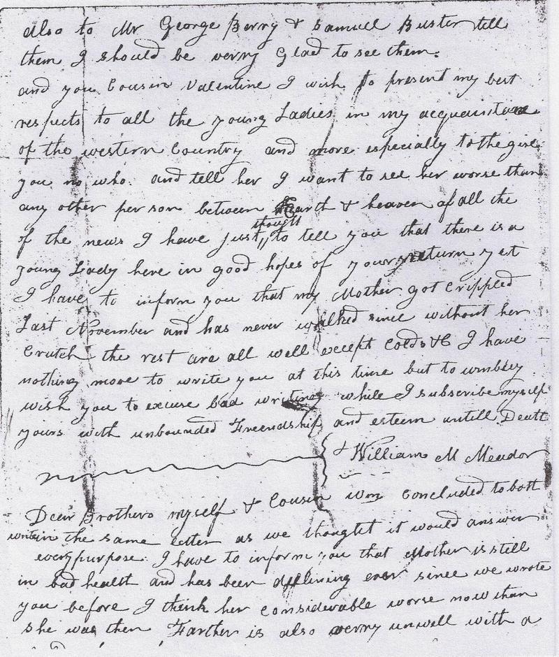 Daniel Boatright Letter