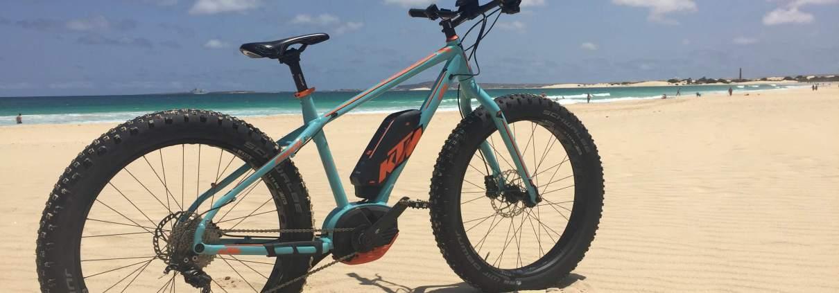 Fat E-bike Boavista Cape Verde