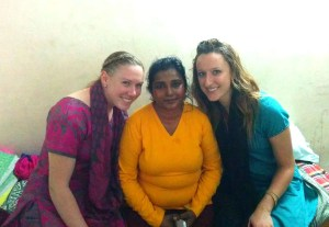 Megan, Christine and me.