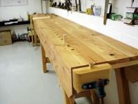Wooden Work Bench PDF Woodworking