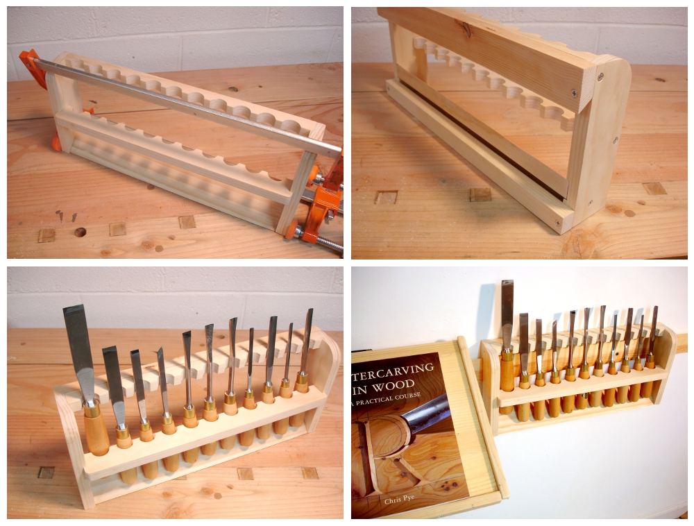 Carving Tool Rack