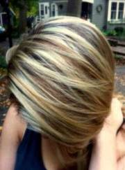 highlighted bob hairstyles