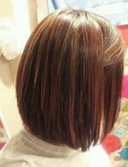 brunette bob haircuts